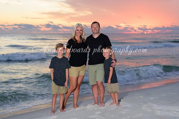 The Carroll family  |  Panama City Beach