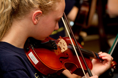 Orchestra at the Garden Club