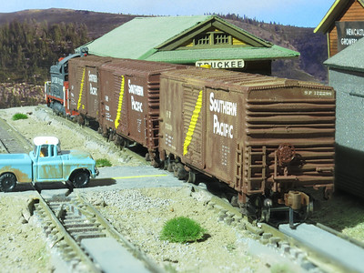 SP Wood Products Boxcar