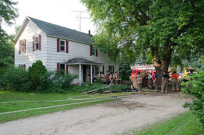 2013-07-01 Litchfield Fire House Burn