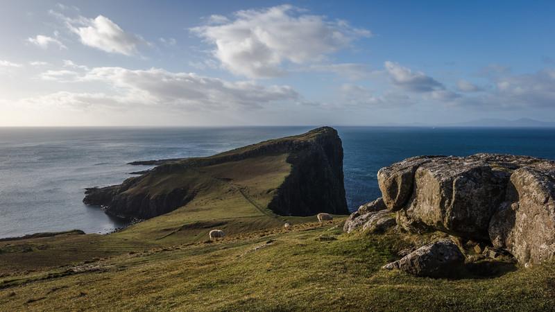 Up And Above Neist Point