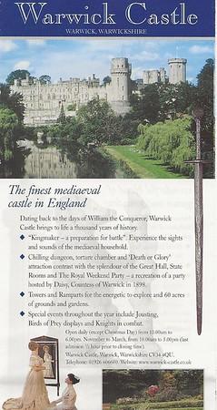 2001-06-01 - Warwick Castle