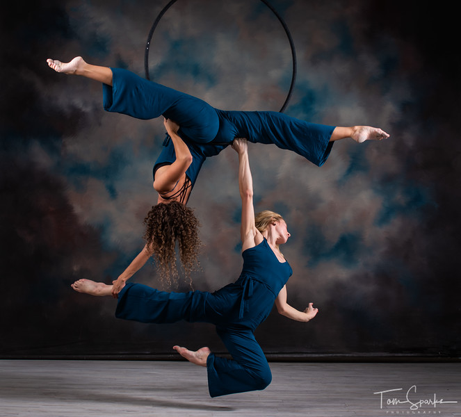 Kendall and Paige Aerial Hoop