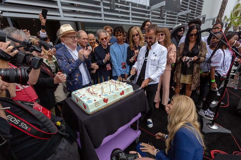 2019_07_07, Birthday, CA, Capitol Records, Los Angeles, Ringo, Ringo Starr, Names