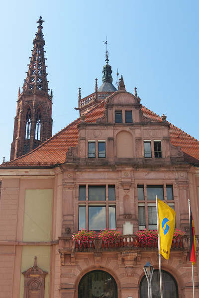 Buhl Town Hall and Church