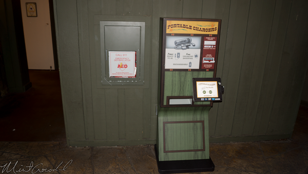 Disneyland Resort, Disneyland, Critter Country, Portable, Phone, Charger, Dispenser, Hungry Bear Restaurant, Hungry Bear, Hungry, Bear