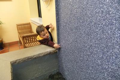 Nate helping Daddy  w/e Nov. 12th