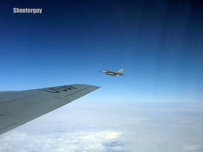 F-16C's Air Refueling