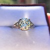 1.88ctw Platinum Filigree Solitaire Ring by C.D. Peacock, GIA S-T, VS 11