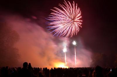 Cookham Fireworks 2013