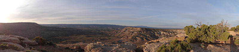 . The view from the Bitter Creek Overlook campground along Kokopelli\'s Trail in eastern Utah. Handout Photo