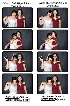 5/12/2018 Niles West Prom (PhotoStrips)