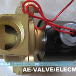 SKU: AE-VALVE/ELECMAG, AC220V Electromagnetic Valve of Max.Pressure 10kg/cm2 with 1 inch Pipe Size Connector for Vacuum Table CNC Router