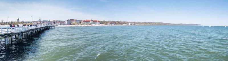 Sopot Pier and Beach