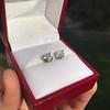 1.85ctw Old European Cut Diamond Stud Earrings 16