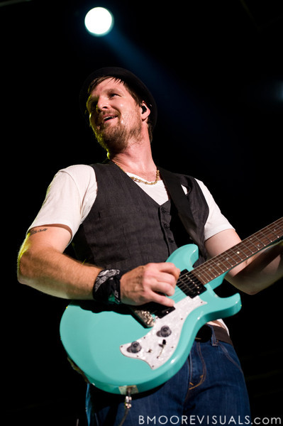 "Tim Rosenau performs with tobyMac on September 11, 2010 during ""Rock The Universe"" at Universal Studios in Orlando, Florida"