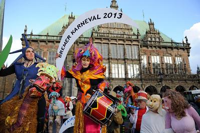 Bremer Karneval 2013 - FAIRkerte Welt