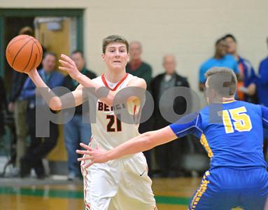 Benet boys basketball in regionals