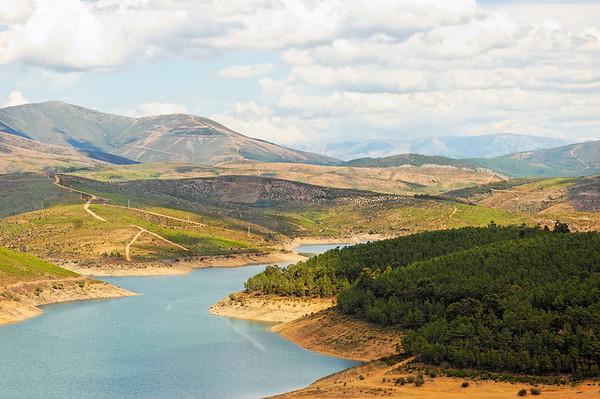 O rio Zêzere - Pampinhosa da Serra