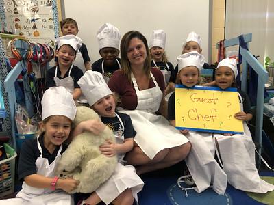 Polar bear pancakes- Guest Chef