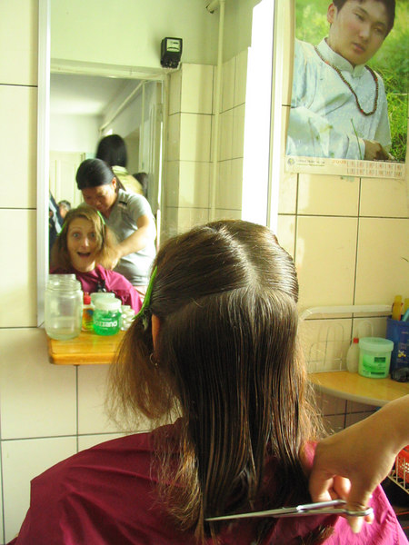 Getting a hair cut at the public shower.  Big mistake.  I don't think they've bought new scissors since the Russians left.