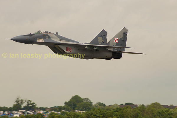 Mikoyan MiG -29A  (NATO name 'FLOGGER')  now of the Polish Air force