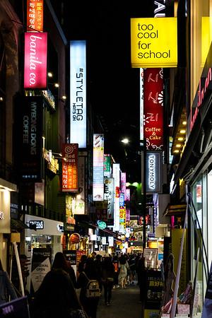 20170331 Myeongdong Market