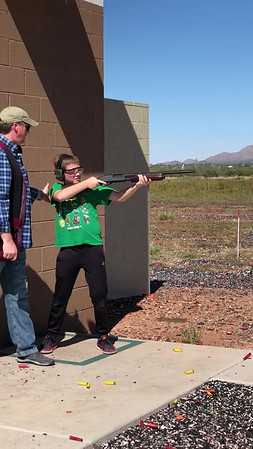 Samuel Shooting Skeet