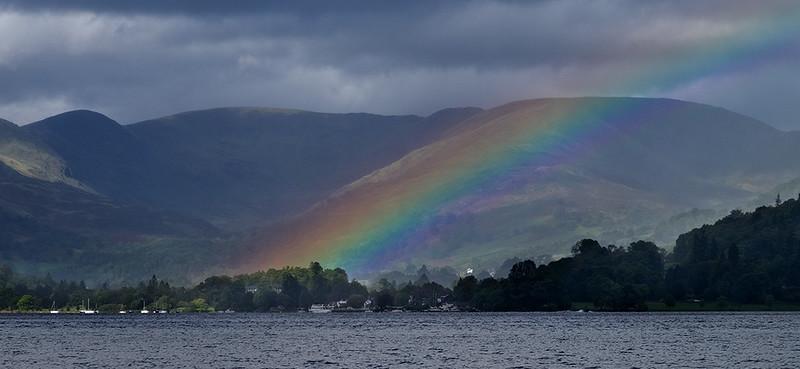 Rainbow over Windermere
