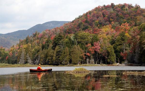 Henderson Lake, NY in September 2007
