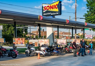 Bike Night Winder Sonic Drive-In May 2019