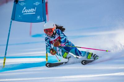 Giant Slalom Girls' 1st Run