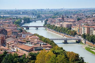 Bergamo - Verona - Garda, Italy 16-21.08.2018