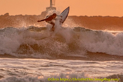 Ventura Locals Surfing