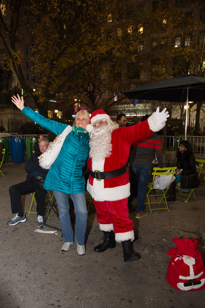 Holidays time in New York - December 11, 2015