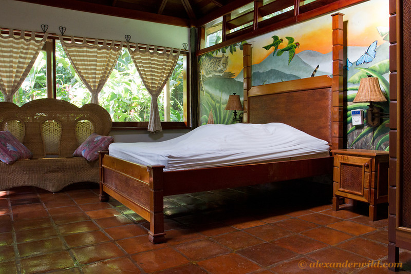 If you need more privacy than in the suites, you can book one of Caves Branch's bungalows.