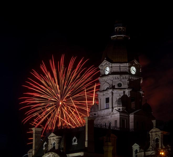 Terre Haute fireworks