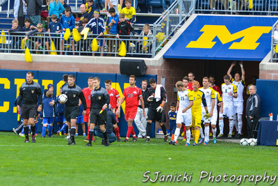 Michigan Men's Soccer Vs Ohio State 9-30-12