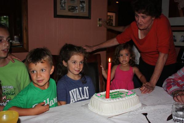Amelia's Eighth Birthday