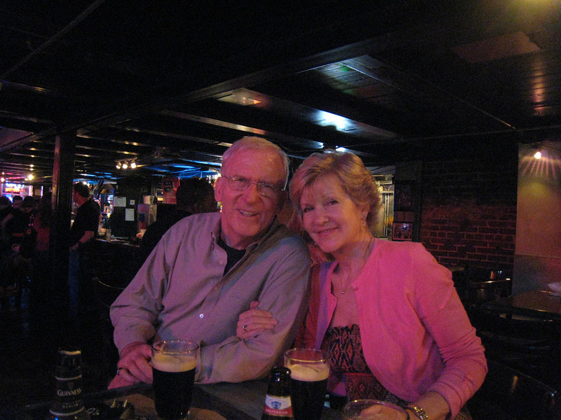 Mike and Linda at BB Kings on Beale Street