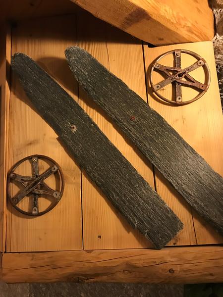 Ancient skis