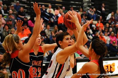 Jonesville vs Homer V Girls Basketball