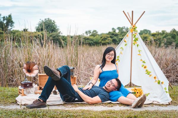 Weiyang and Amelia Couple Photos