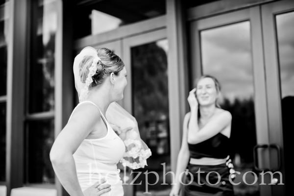 Katie and Nick B/W Wedding Photos (Louisville, Ky)