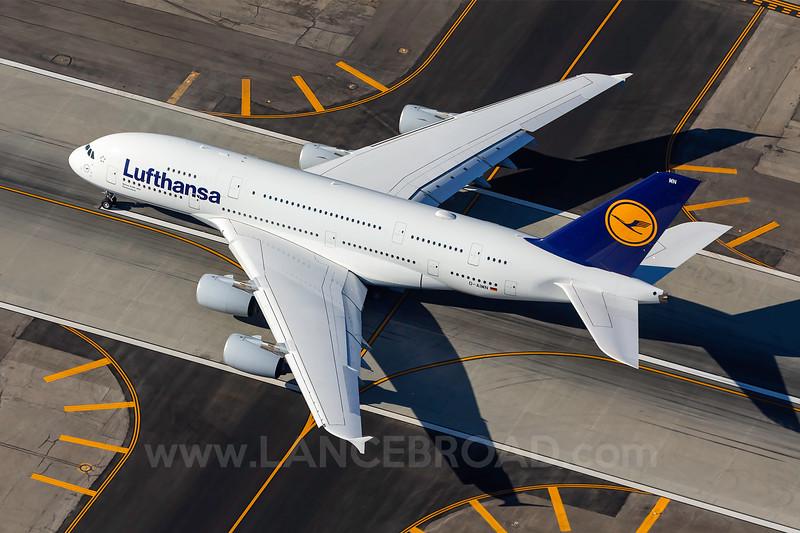 Lufthansa A380-800 - D-AIMN - LAX