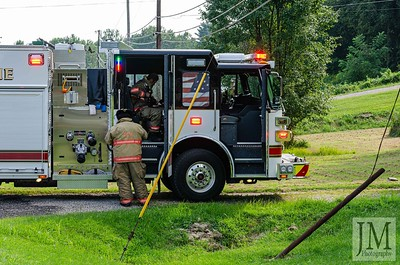 08-18-19 Conesville FD - House Fire