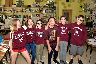 Eagle Proud In Maroon and White photos by Gary Baker
