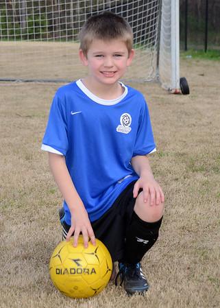 Samantha U10 Soccer Spring 2014