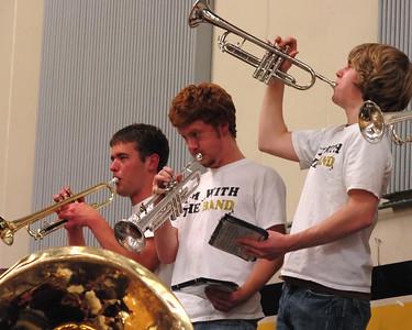LHS Pep Band 2007-2008