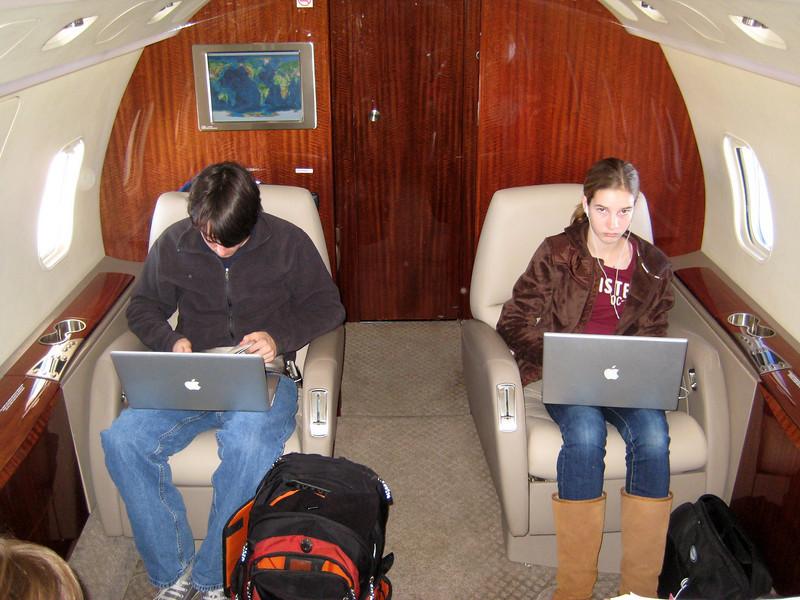 Dueling laptops
